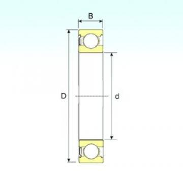 ISB 6301-Z deep groove ball bearings
