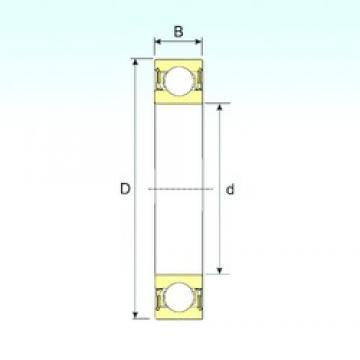 ISB 61813-2RZ deep groove ball bearings