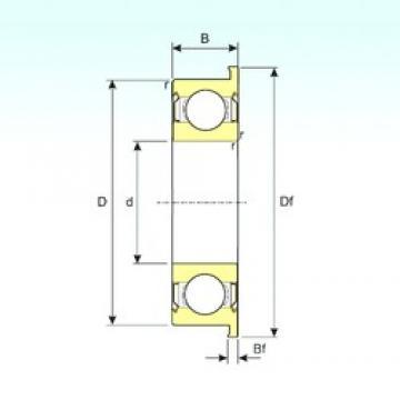 ISB F603ZZ deep groove ball bearings