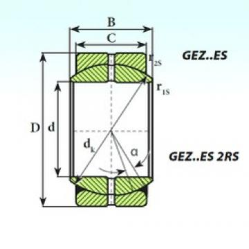 ISB GEZ 44 ES plain bearings