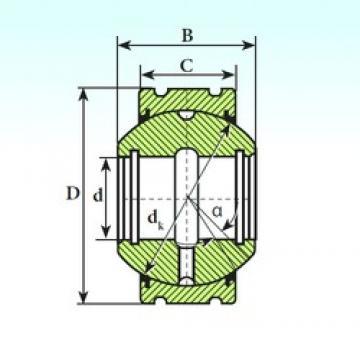 ISB GEK 35 XS 2RS plain bearings
