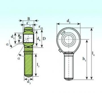 ISB TSM 10 plain bearings