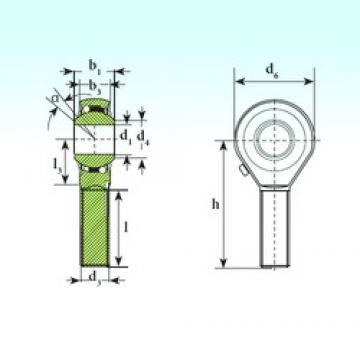 ISB TSM 14 BB-O self aligning ball bearings