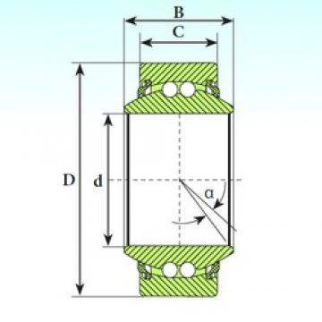 ISB GE 45 BBL self aligning ball bearings