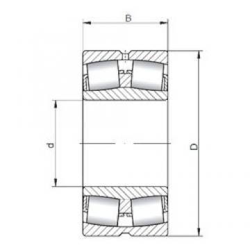 ISO 22309W33 spherical roller bearings