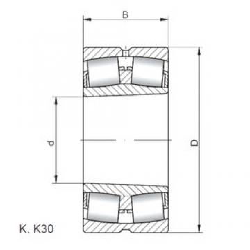ISO 23232 KW33 spherical roller bearings