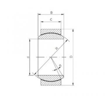 ISO GE 180 ECR-2RS plain bearings