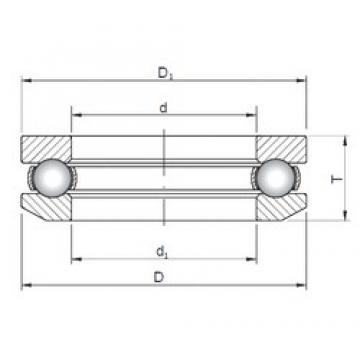 ISO 53206 thrust ball bearings