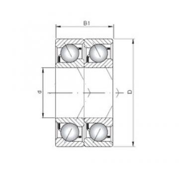 ISO 7068 ADT angular contact ball bearings