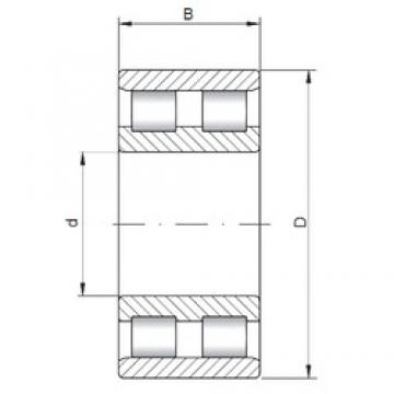 ISO NN4960 cylindrical roller bearings