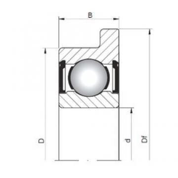 ISO FL618/2 ZZ deep groove ball bearings