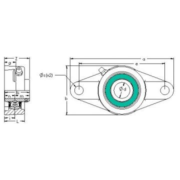 AST UCFL 209-28G5PL bearing units