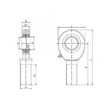 ISO SAL 22 plain bearings