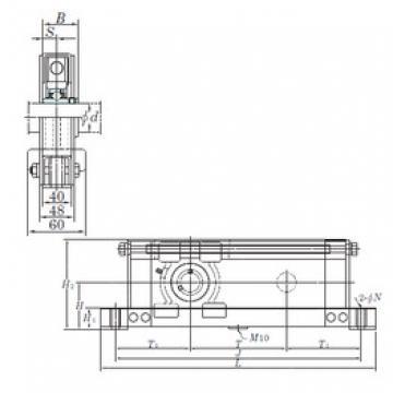 KOYO UCTL207-400 bearing units