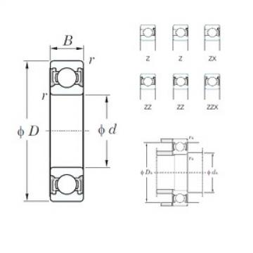 KOYO 6240-1ZZX deep groove ball bearings