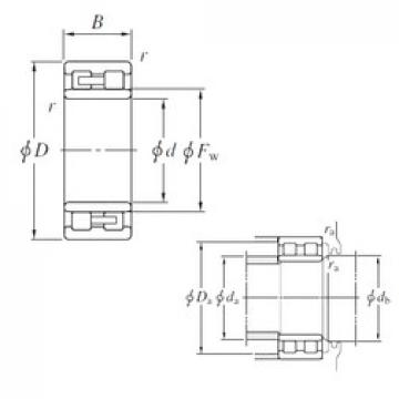 KOYO NNU49/600 cylindrical roller bearings