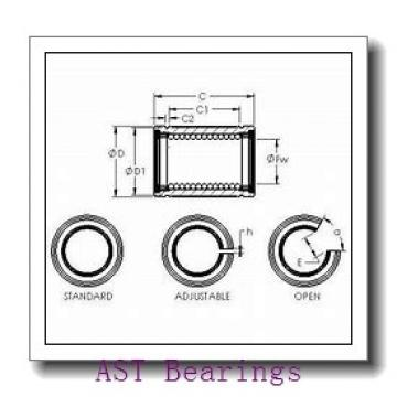 AST F635H-2RS deep groove ball bearings