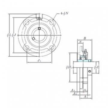 KOYO UCFCX12 bearing units
