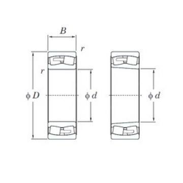 KOYO 23052RHA spherical roller bearings
