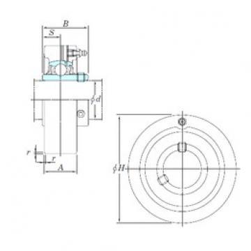 KOYO UCC305-16 bearing units