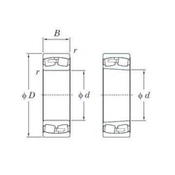KOYO 24168RK30 spherical roller bearings