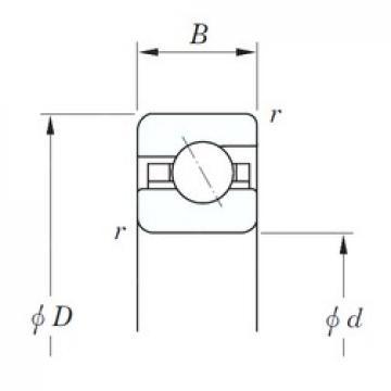 KOYO KGA180 angular contact ball bearings