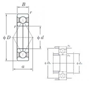 KOYO 6215BI angular contact ball bearings