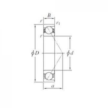 KOYO AC5738B angular contact ball bearings