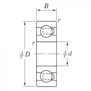 KOYO 3NC609ST4 deep groove ball bearings