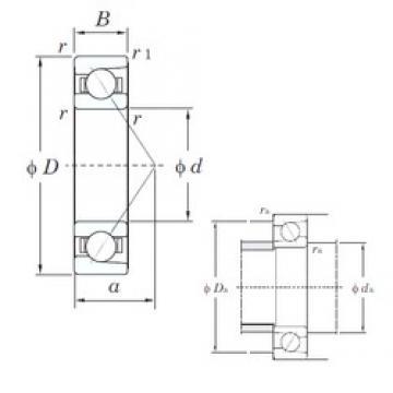 KOYO 7009C angular contact ball bearings
