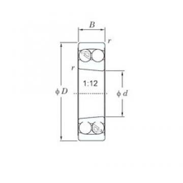 KOYO 2311K self aligning ball bearings