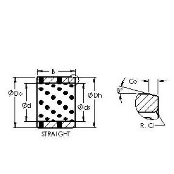 AST AST650 152120 plain bearings
