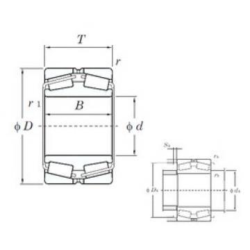 KOYO 45288 tapered roller bearings