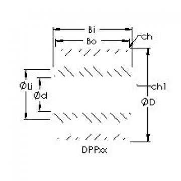 AST DPP5 deep groove ball bearings