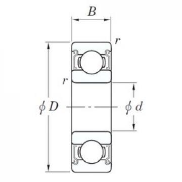 KOYO SV 627 ZZST deep groove ball bearings