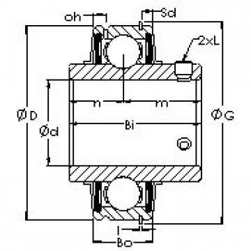 AST ER201-8 bearing units