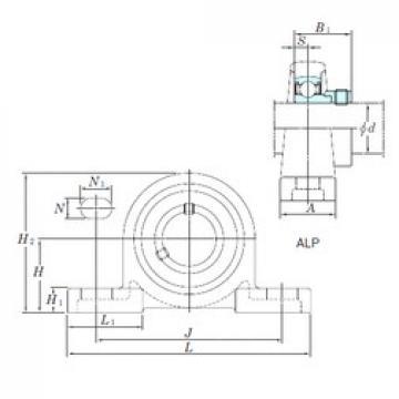 KOYO ALP207-23 bearing units