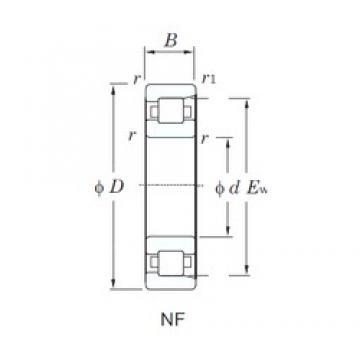 KOYO NF313 cylindrical roller bearings