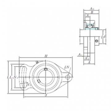 KOYO UCFA204 bearing units