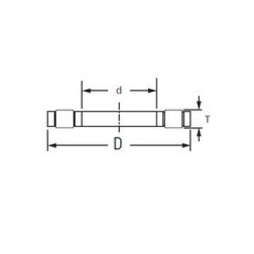 KOYO K,81218LPB thrust roller bearings