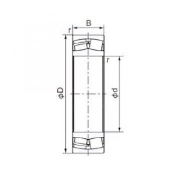 NACHI 24030EX1 cylindrical roller bearings