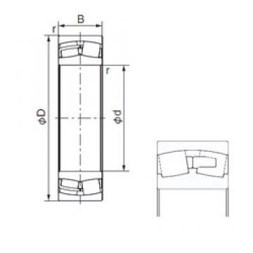 NACHI 23920E cylindrical roller bearings