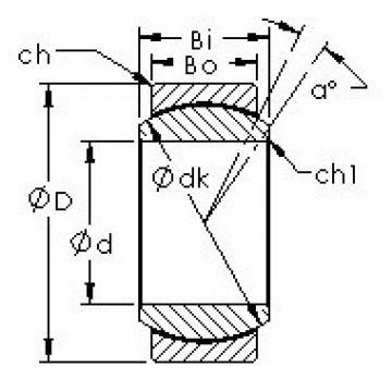 AST GEG10N plain bearings