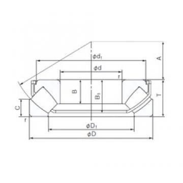 NACHI 29322EX thrust roller bearings