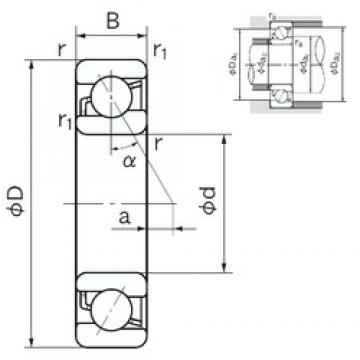 NACHI 7203 angular contact ball bearings