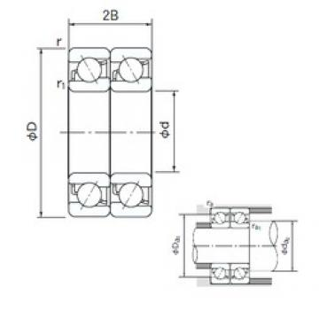 NACHI 7213CDT angular contact ball bearings