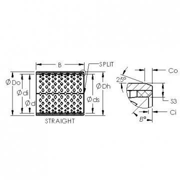 AST AST090 4040 plain bearings