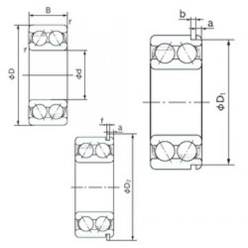 NACHI 5211ANR angular contact ball bearings