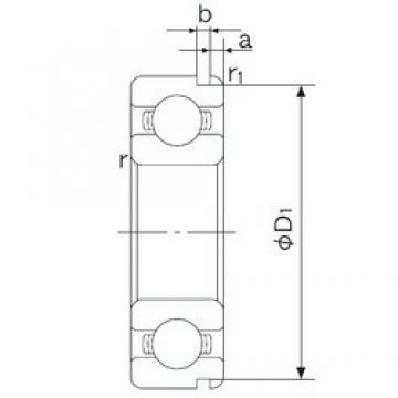 NACHI 6301N deep groove ball bearings