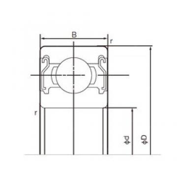 NACHI 6304ZZE deep groove ball bearings
